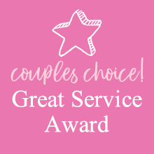 Couples' Choice! – Great Service Award - Kent Wedding Awards
